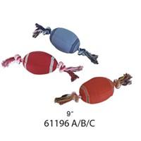 Lion 23Cm Baseball Diş İpli Köpek Oyuncağı Kırmızı