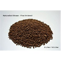Aqua Deco Nature Soil Brown Fine 3L Bitki Kumu