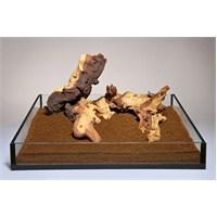 Aqua Deco Mopanı Wood Kg Doğal Ahşap Dekor