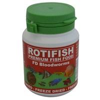 Rotifish Fd Bloodworms 100Ml (7Gr.) Kurutulmuş Kankurdu