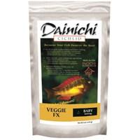 Dainichi Veggie Fx Baby 250 Gr. 1 Mm. Otçul Doğal Renlendirici Çiklit Yemi