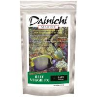 Dainichi Marine Reef Veggie Fx Baby 57 Gr. 1 Mm. Otçul Doğal Renklendirici Tuzlusu Yemi