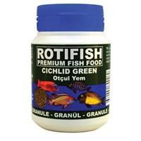 Rotifish Cichlid Green Small (1 Mm) 100Ml (45 Gr.) (Otçul Ciklit Balıklarınız İçin)