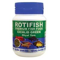 Rotifish Cichlid Green Medium (Yavaş Batan) (2 Mm) 100Ml (70 Gr.)