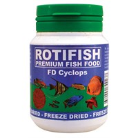 Rotifish Fd Cyclops 100Ml (15Gr.) Kurutulmuş Cyclops
