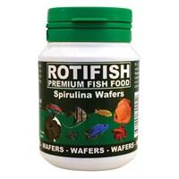 Rotifish Spirulina Wafers 100Ml (50Gr.) Spirulina Katkılı Wafer Yem.