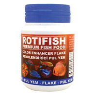 Rotifish Color Enhancer Flake 100Ml (15Gr.) Renk Geliştirici Pul Yem