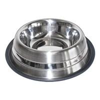 Lion Çelik Mama Kabı(Catdish 96Oz Double Ring 2300Ml)