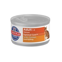Hill's Science Plan Tavuklu Yetişkin Kedi Konserve Maması 85 Gr (Adult Optimal Care with Chicken)