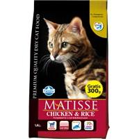 Matisse Tavuklu Pirinçli Kuru 1,8 Kg Kedi Maması