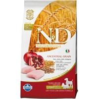 N&D Tavuk Etli Narlı Düşük Tahıllı Yetişkin&Mini Irk Light 2,5 Kg Köpek Maması