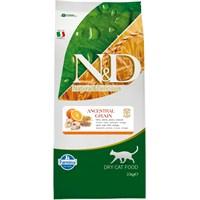 N&D Balıklı Portakal Düşük Tahıllı 10 Kg Yetişkin Kedi Maması