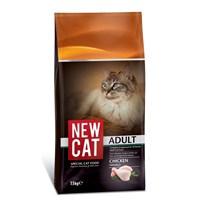 New Cat Tavuklu Yetişkin Kedi Maması 15 kg