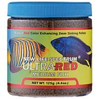New Life Spectrum Ultra Red Medium 125 Gr. Renklendirici Balık Yemi
