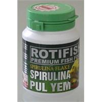 Rotifish Spirulina Flake 100Ml (15Gr) (Spirulina Pul Yem)
