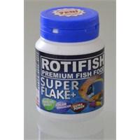 Rotifish Super Flake 100Ml (20Gr) Renk Ve Bağışıklık Arttırıcı Pul Yem