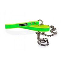 Neon Yeşil-Sarı L Zinc.Gezdirme Tasması