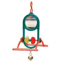 Kuş Oyuncağı Tünekli Zilli Ayna