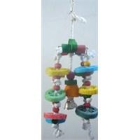Eurogold Kuş Oyuncağı Papağan & Parakeet (36 Cm)