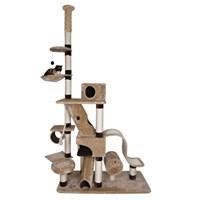 Trixie kedi tırmalama tahtası 246-280cm, bej/kahve