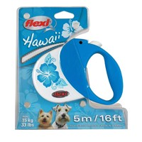 Flexi Hawaii Turkuaz Köpek Tasması 5M