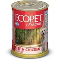 Ecopet Biftek&Tavuk Parça Etli Köpek Konservesi 405 Gr