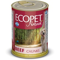 Ecopet Biftek Parça Etli Köpek Konservesi 405 Gr