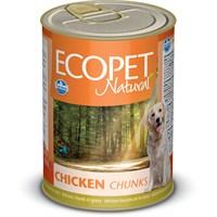 Ecopet Tavuk Parça Etli Köpek Konservesi 405 Gr