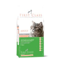 First Class Kuzu Etli Pirinçli Kısırlaştırışmış Yetişkin Kedi Maması 2 kg