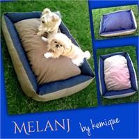 Kemique Melanj Köpek Yatağı 2X-Large