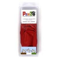 Pawz Köpek Galoşu Small ( Red ) 12'Li