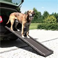 Trixie köpek iniş rampası, 40x156cm siyah