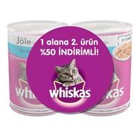Whiskas Ton Balıklı Kedi Konservesi 400 gr 2'li Avantaj Paket gk
