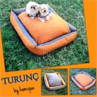 Kemique Turunç Köpek Yatağı 2X-Large