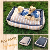Kemique Karamel Köpek Yatağı 2X-Large