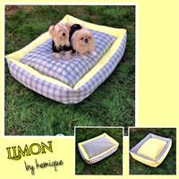 Kemique Limon Bahçesi Köpek Yatağı 2X-Large