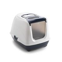 Moderna Flip Kapalı Kedi Tuvaleti Lacivert(37X39x50)