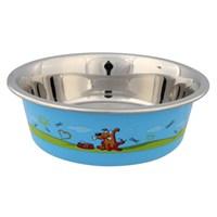 Trixie Köpek Mama Ve Su Kabı, Paslanmaz 1,6Lt/21Cm