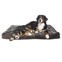 Trixie köpek yatağı 100x70cm, pati desenli gri