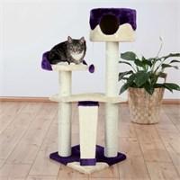 Trixie kedi oyun&tırmalama evi 104 cm, bej/mor