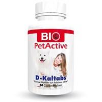 Biopetactive Çiğneme Tableti D-Kaltabs (Kedi Ve Köpekler İçin Kalsiyum Tablet) 126Gr