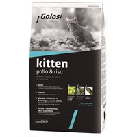 Golosi Cat Kitten Chicken And Rice 1,5 Kg