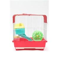 Hamster Kafesi Kare 30*22*30 Cm