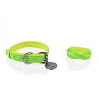 Neon Yeşil-Sarı L Tasma/Bileklik