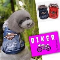 Kemique Lacivert Harley Köpek Montu - Biker By Kemique