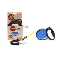 Smart Leash M Mavi Otomatik Köpek Tasması