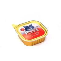 Plaisir Kedi Pate Sığır Etli 100 Gr