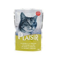 Plaisir Kedi Pounch Somonlu 100 Gr
