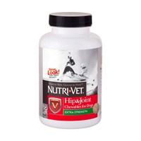 Nutrı-Vet Hip & Joint Extra Strength Chewable 75 Tab. Köpekler İçin Çiğneme Tableti