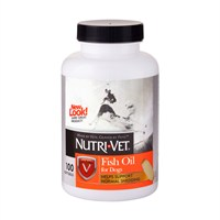 Nutrı-Vet Fish Oil 100 Tab. -Köpekler için Balık Yağı – Yumuşak Jel